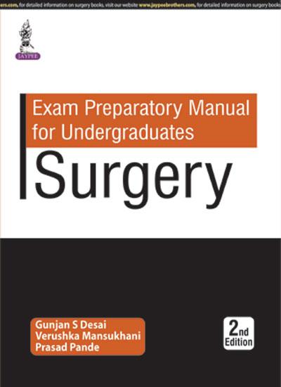 EXAM PREPARATORY MANUAL FOR UNDERGRADUATES: SURGERY