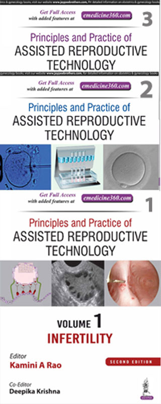 PRINCIPLES AND PRACTICE OF ASSISTED REPRODUCTIVE TECHNOLOGY (3 VOLS. SET)