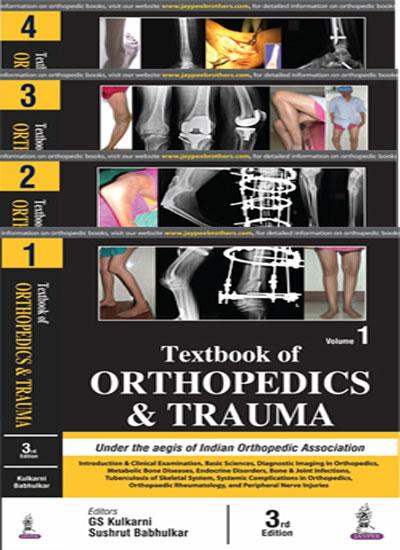 TEXTBOOK OF ORTHOPEDICS AND TRAUMA (4 VOLS)